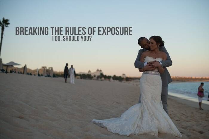 Breaking the Rules of Exposure: I Do, Should You?