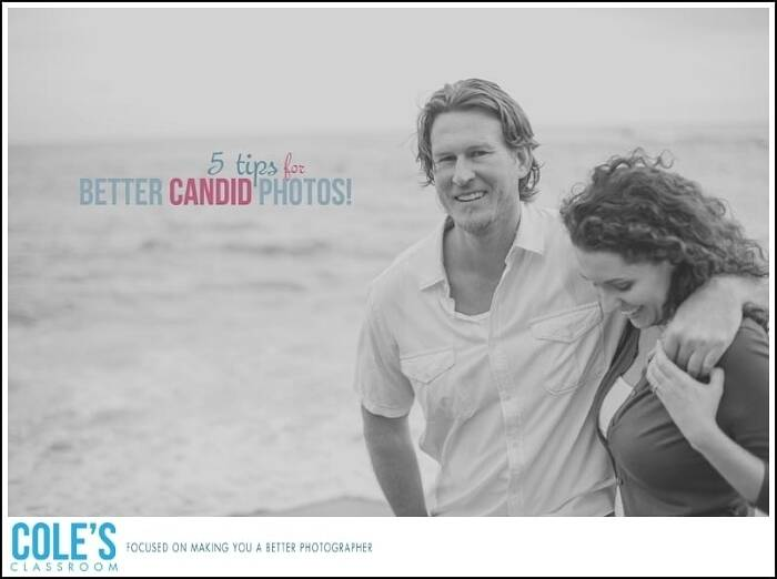 5 Tips for Better Candid Photos!