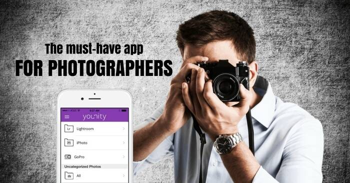 Younity – a Must Have Free App for All Photographers!
