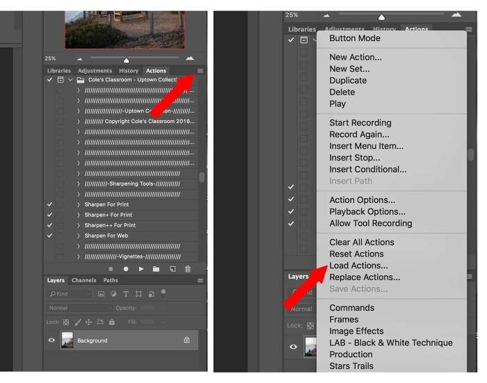 How to Install Photoshop Actions & Tips for Using Actions