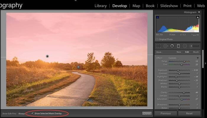 Quick Tips for Using the Graduated Filter in Lightroom