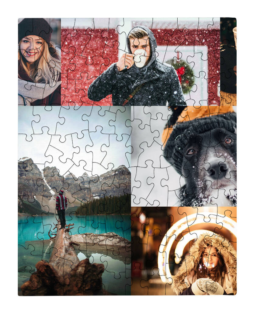 Personalized puzzle made by Collage.com