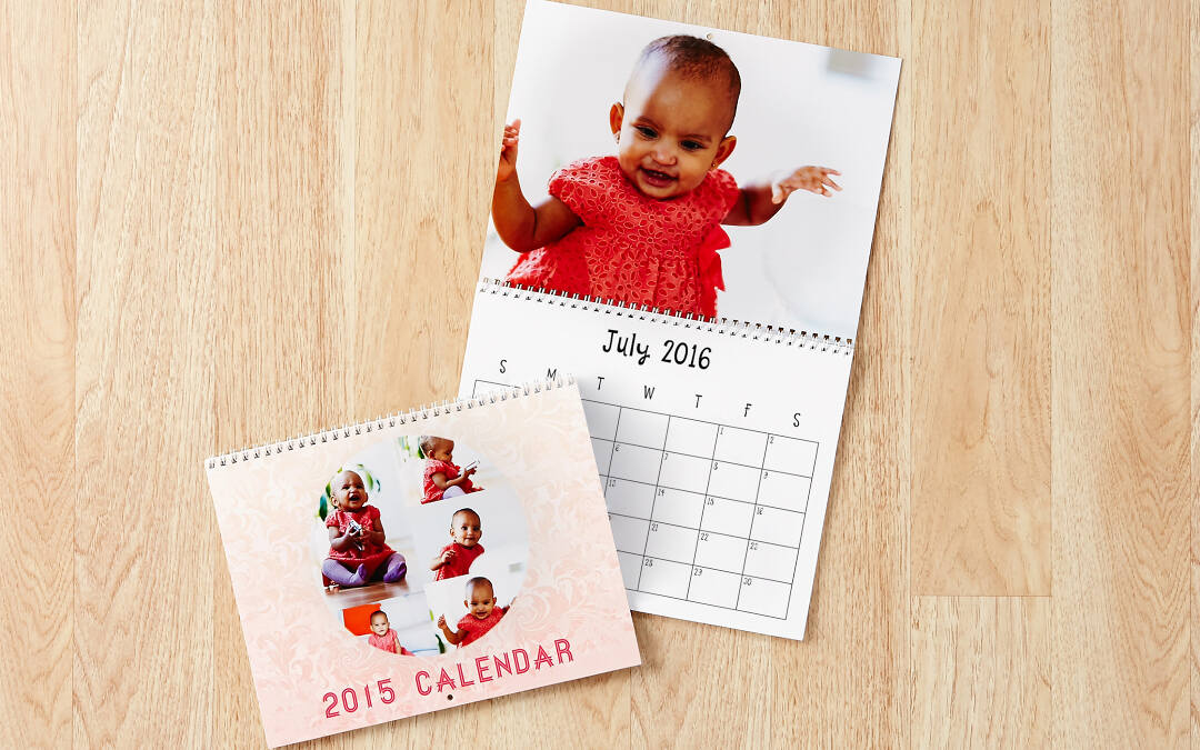 There's no need to wait until January to order your calendar. Because we print each personalized calendar to order, it can start any month of the year. You're busy enough at the New Year, so why wait?