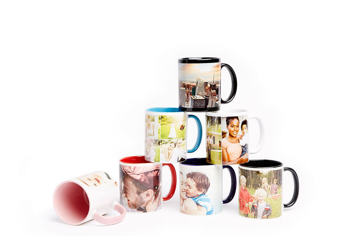 Your photos and designs will look great when printed-to-order on our ceramic custom mug. We use high-resolution dye sublimation printing technology to ensure your photos look sharp for years to come.