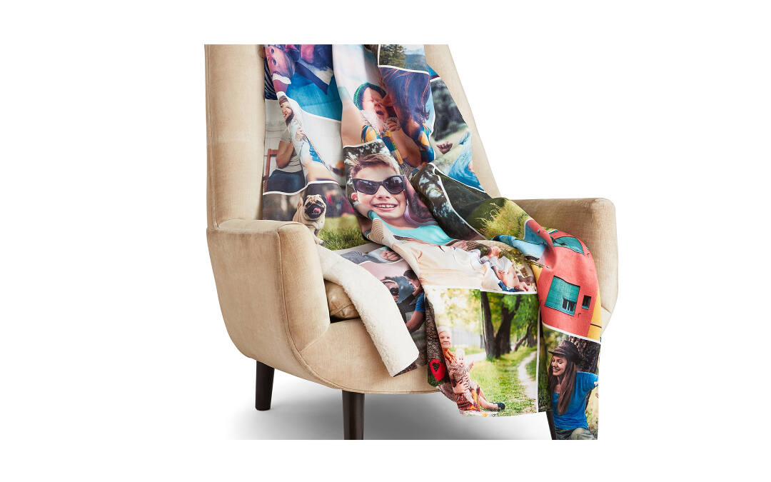 Sherpa Photo Blanket