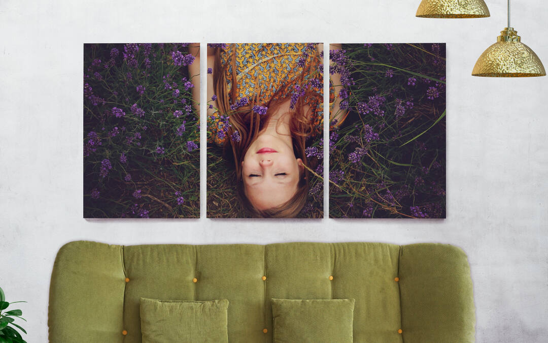 Photo Canvas Triptych