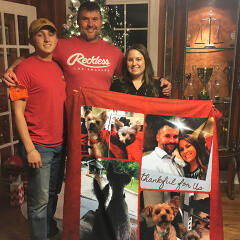 custom photo blanket customer review