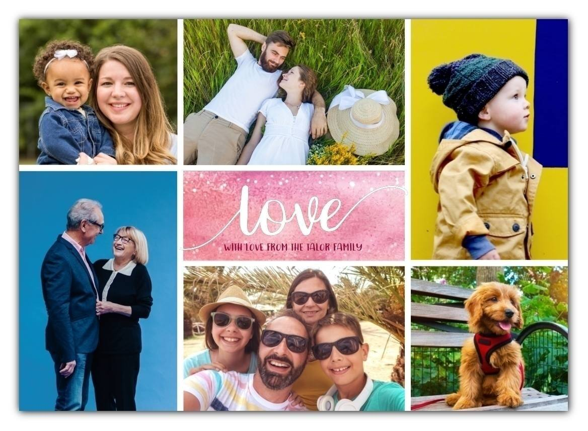 Love Collage Card