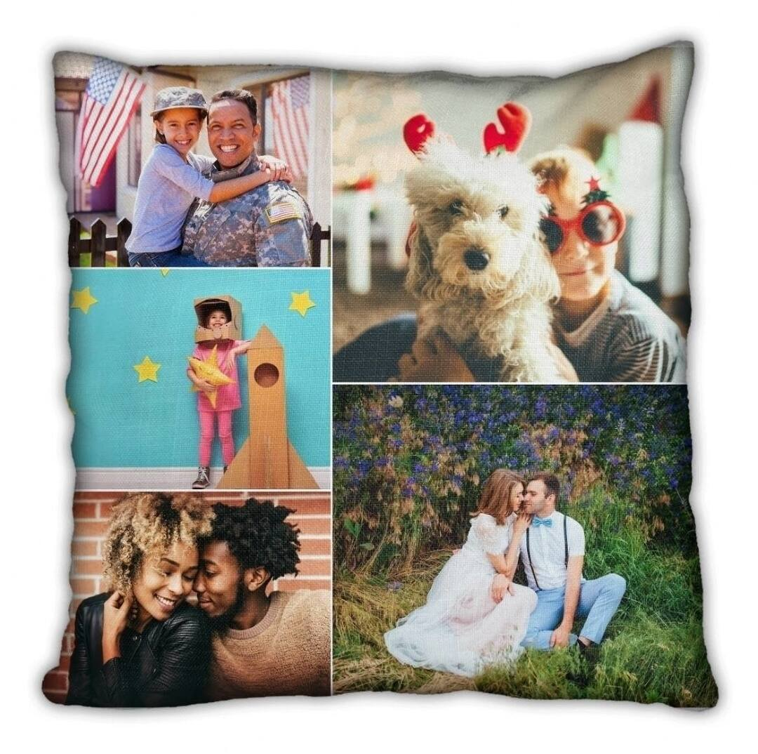Create Customized Photo Pillows with Collage.com