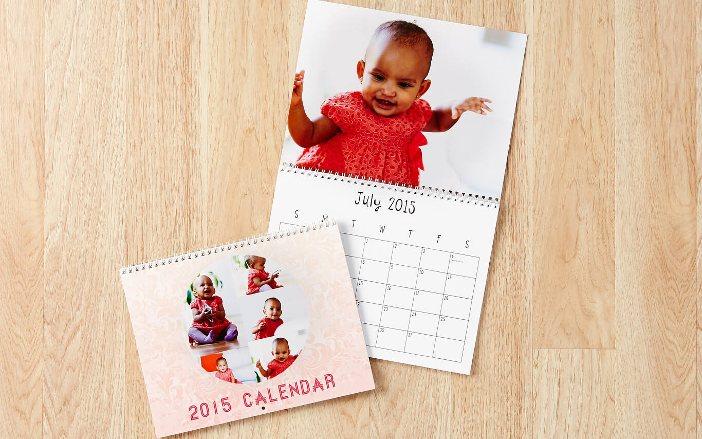 Our calendars start any month of the year