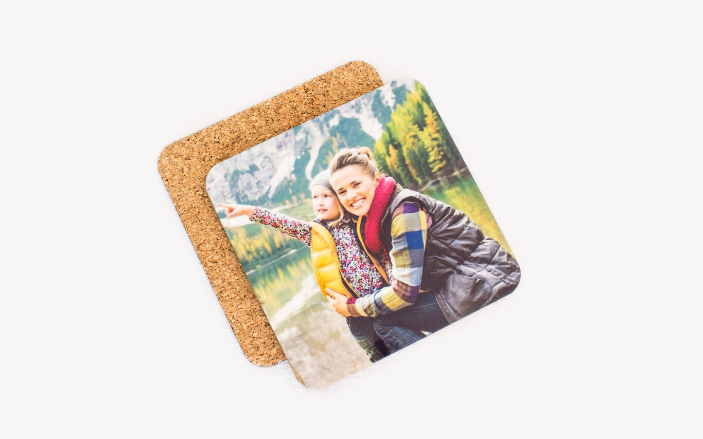 Durable, sharp prints on one side. Non-slip cork backing on the other.