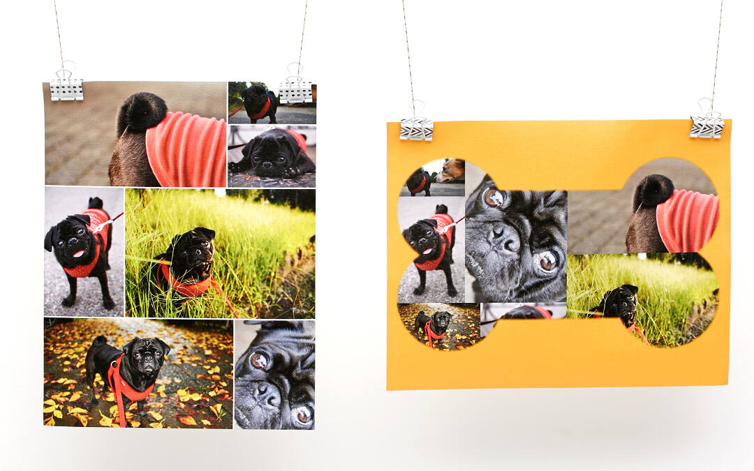 rolled photo canvas collage com