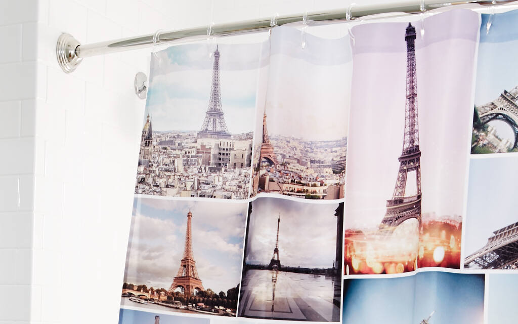 Custom Shower Curtains | Personalized Shower Curtains | Collage.com