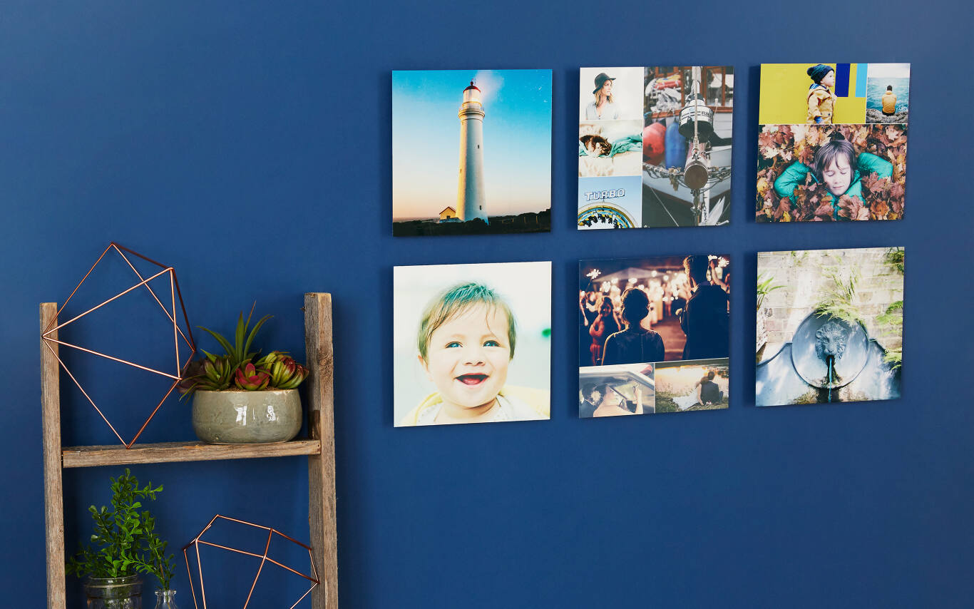 We directly infuse vibrant dyes into lightweight aluminum to create the most vivid, high-definition wall decor we sell. This modern, seamless metal print will make your photos really stand out compared to traditional canvases or posters.