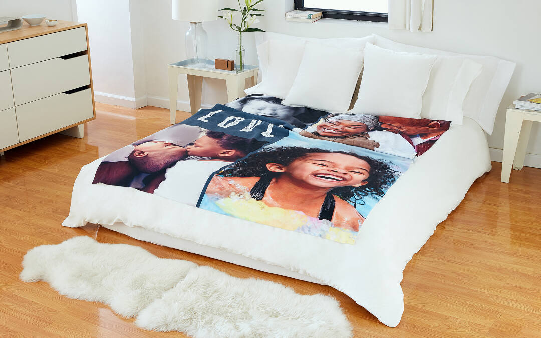 Fleece Photo Blanket