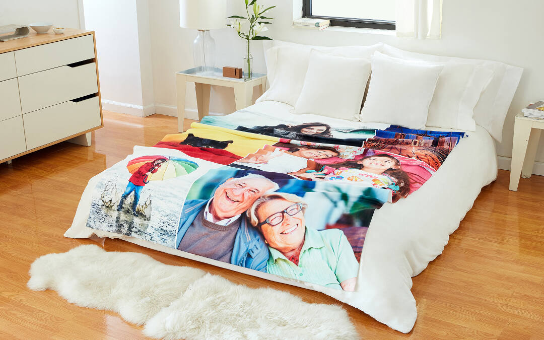 Smooth Fleece Photo Blanket