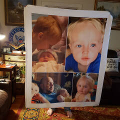 personalized photo blanket customer review