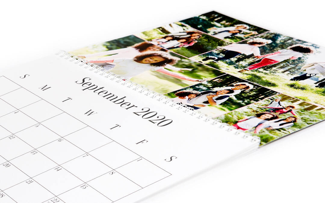 There's no need to wait until January to order your calendar. Because we print each personalized calendar to order, it can start any month you choose!. You're busy enough at the New Year, so why wait?