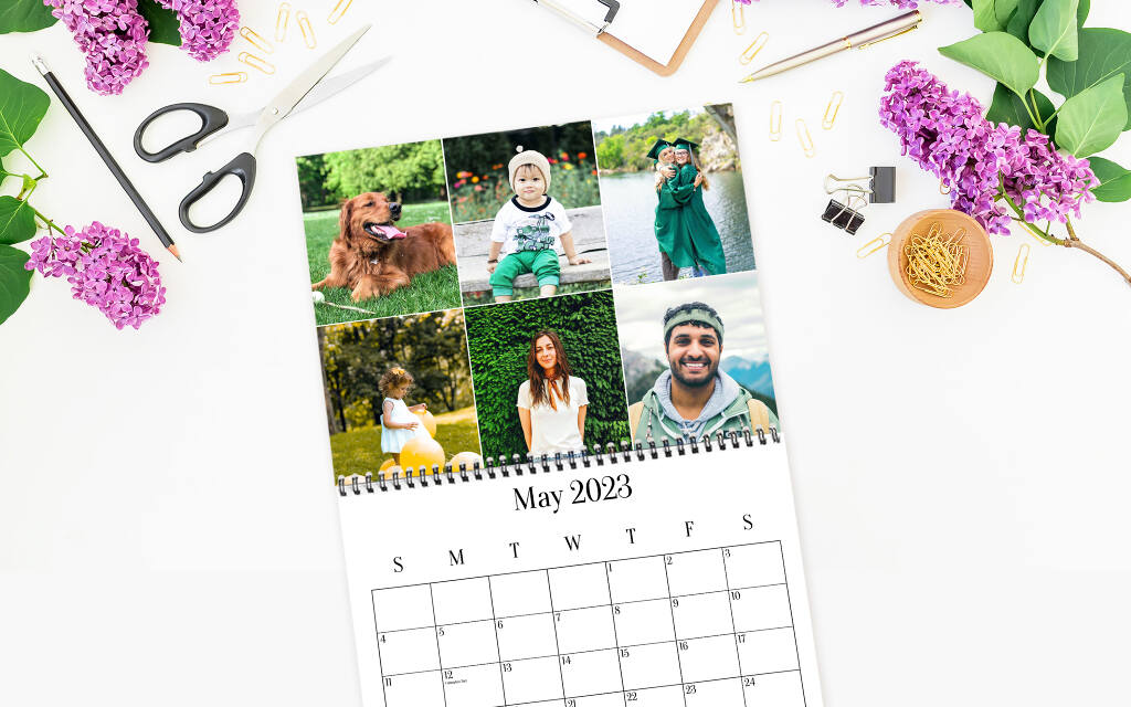 Custom Calendars - Make Your Own Calendar with Collage.com