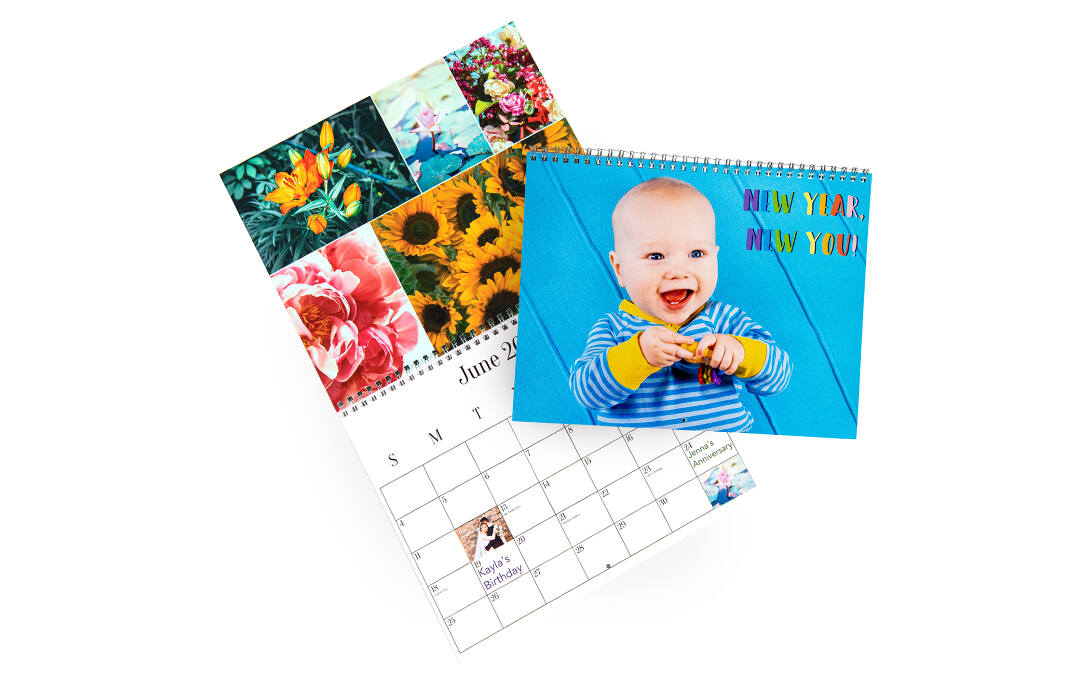 <br>Our tools make it so easy to completely customize your photo calendar, from adding photos to creating special holidays. Every calendar ordered is backed by our Just Right 100% Satisfaction Guarantee.
