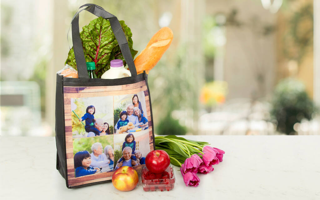 Make Your Own Reusable Shopping Bags With Collage.com