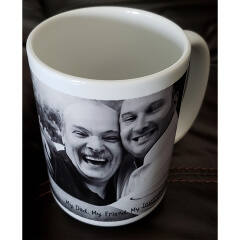 personalized photo mug customer review