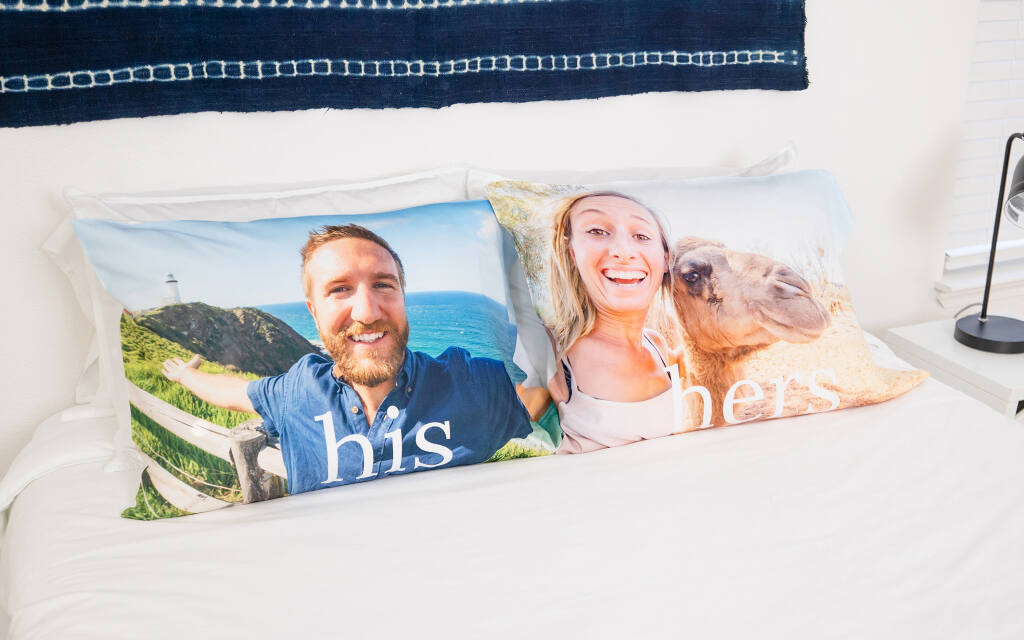 Custom Photo Pillow Cases by Collage.com