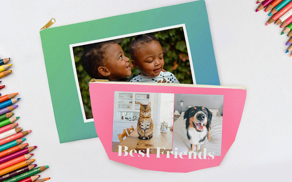 Create A Personalized Pencil Case With Collage.com