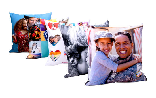 Personalized pillows make great home decor gifts